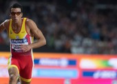 Joan Munar se cuelga la plata mundial en los 200 metros