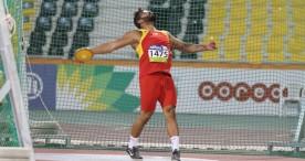 Kim López, discóbolo de bronce en el Mundial de Londres