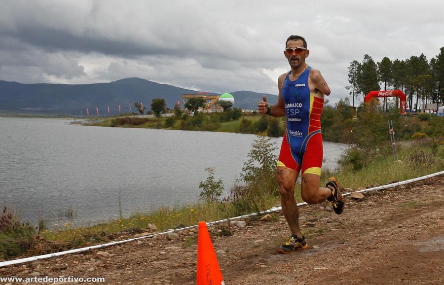 El triatleta Kini Carrasco.