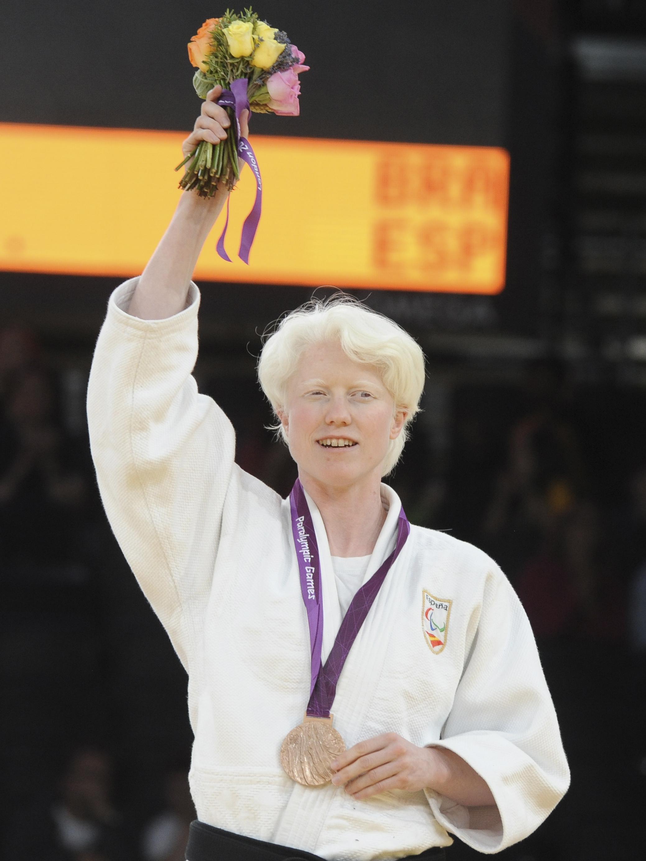 Marta, con el bronce en Londres. Fuente: CPE