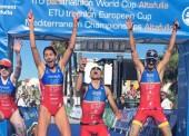 El paratriatlón español brilla en Altafulla con 8 medallas