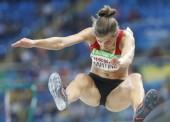 Sara Martínez vuela en Londres hasta la plata mundial
