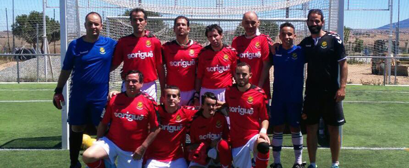 El equipo de fútbol para ciegos de Tarragona, gana el campeonato de España por cuarta vez. Fuente: AD