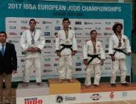 Sergio Ibáñez, plata y Daniel Gavilán, bronce en el Europeo de judo