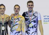 España consigue 3 medallas en el europeo de gimnasia aeróbica