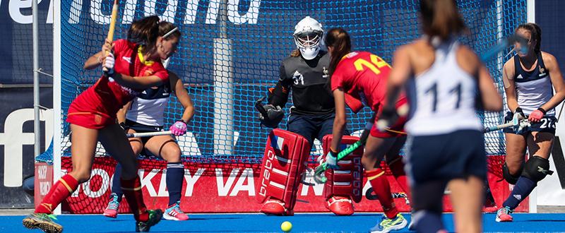 Selección femenina sub-21 de hockey hierba. Fuente: Rfeh