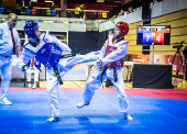 El taekwondista español Álex Vidal, campeón del mundo