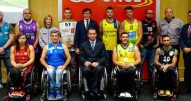 Salto inicial para la liga de baloncesto en silla de ruedas