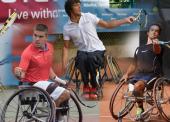 Los mejores tenistas en silla se retan en Barcelona
