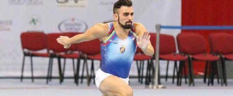 El gimnasta Daniel Pérez. Fuente: Rfeg
