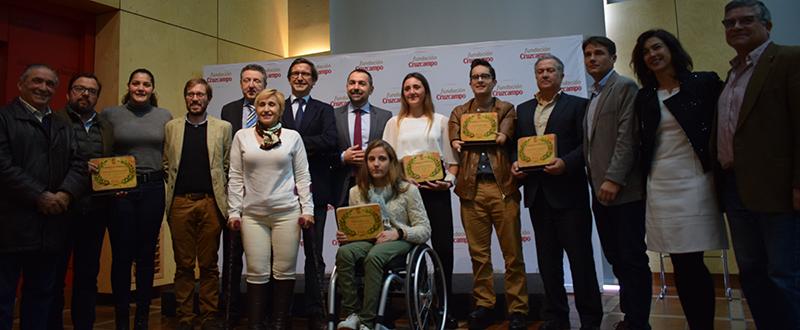 Premiados Estímulos al Deporte 2017. Fuente: Avance Deportivo/Laura Pérez