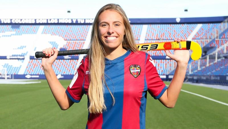 Maitane López, jugadora del Levante. Fuente:RFEH
