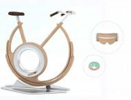 La empresa española ROJOmandarina Studio obtiene un premio internacional con una bici estática de material sostenible