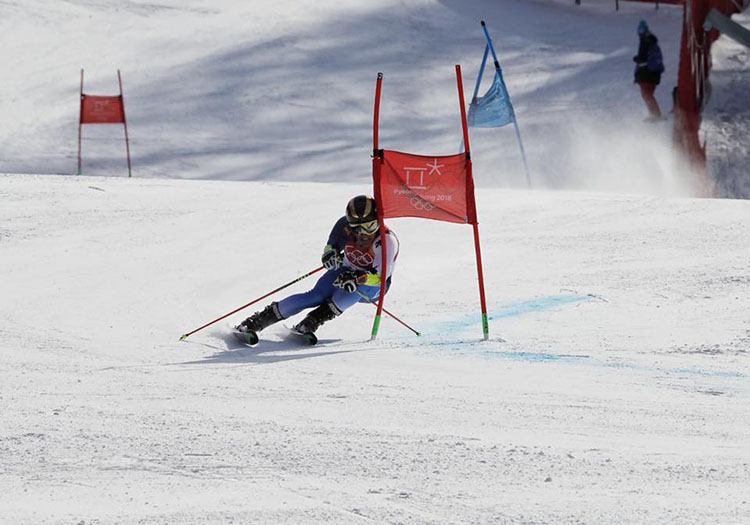 Juan del Campo debutó en PyeongChang2018. Fuente: COE
