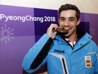 Javier Fernández, bronce olímpico en PyeongChang