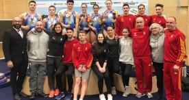 La gimnasia española consigue 28 medallas este fin de semana