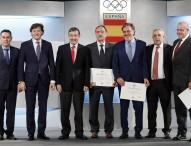 Homenaje al equipo Español de los Juegos Olímpicos de Montreal e Innsbruck 1976