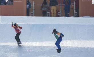 Astrid Fina, campeona de España de snowboard