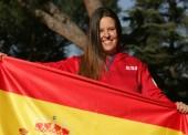 Astrid Fina, abanderada del equipo paralímpico español en Pyeongchang