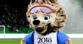 Roban en Rusia una estatua de la mascota del Mundial de casi dos metros