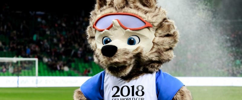Mascota del Mundial de Rusia de Fútbol de 2018.