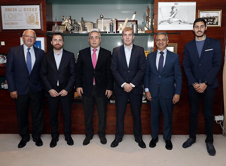 COE y Canarias, acuerdo esports. Fuente: COE
