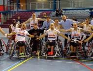 La selección española masculina de BSR, a las paraolimpiadas
