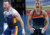 Lydia Valentín y Josue Brachí, campeones de Europa