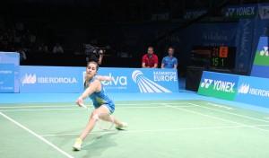 Carolina Marín reina en Europa