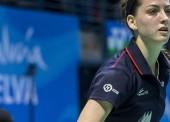 Luces y sombras en el debut español en la European Badminton Championships