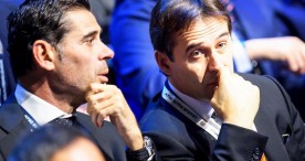 Hierro sustituye a Lopetegui como seleccionador nacional