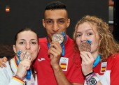 Baño de medallas en la segunda jornada de Tarragona 2018