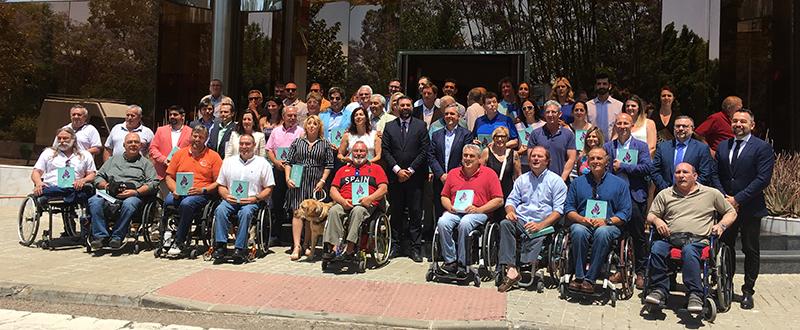 Presentación olímpicos y paralímpicos andaluces. Fuente: Avance Deportivo