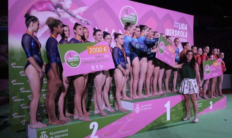 Campeonato de España de Gimnasia. Fuente: Rfeg