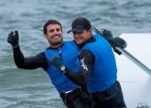 Diego Botín y Iago L.Marra, campeones de Europa de 49er en vela