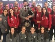 La selección femenina de gimnasia artística ya se encuentra en Glasgow
