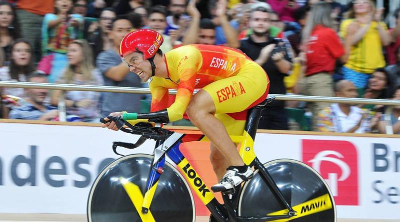 El cuádruple campeón del mundo de ciclismo en pista, Alfonso Cabello.