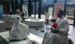 Cuatro españoles, en la Copa del Mundo de esgrima en silla