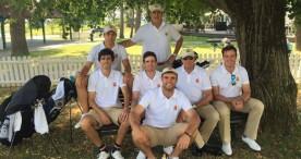España, en la lucha por revalidar el título en el Europeo por equipos en golf