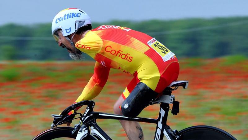 El ciclista catalán, Juanjo Méndez, será uno de los participantes en la Copa del Mundo. Fuente: RFEC