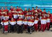 Las estrellas paralímpicas lideran a España en el Europeo de natación