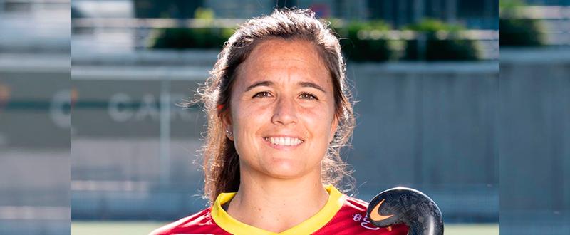 La jugadora de 'Las Redstick' Rocío Gutiérrez. Fuente: Rfeh
