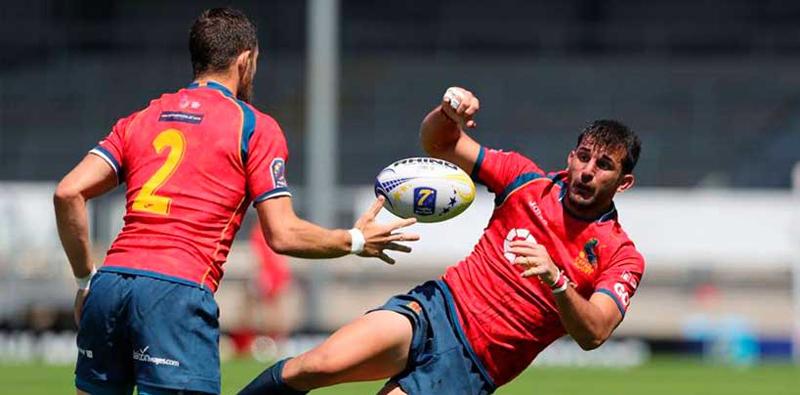 La selección española masculina de rugby seven finaliza novena en la tercera prueba del Europeo. Fuente: Ferugby