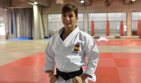 La karateca española, Sandra Sánchez, una de las mejores del mundo en la categoría de katas.