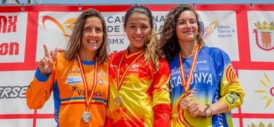 Verónica García, campeona. Fuente: RFEC