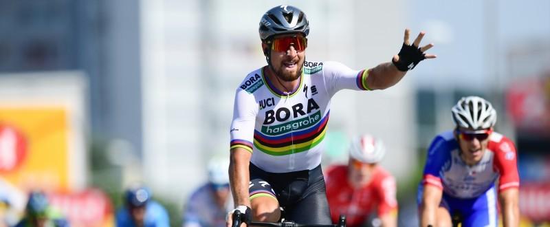 Peter Sagan, ganando la segunda etapa del pasado Tour de Francia