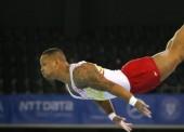 Rayderley Zapata consigue la 7ª plaza en la final de suelo del Europeo de Glasgow