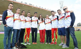 Un botín de 28 medallas para los atletas españoles en Berlín