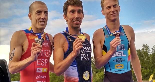Fernando Alarza, Subcampeón de Europa en Glasgow . Fuente: FETR