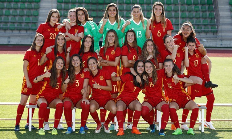 La selección española sub-20 Fuente: SefútbolFem